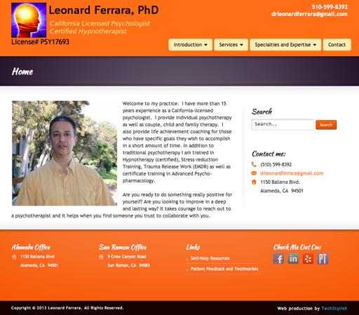 Leonard Ferrara, PhD.